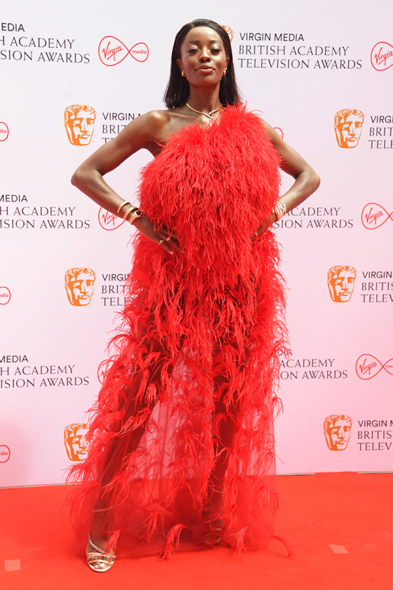 See All The Catchy And Glamorous Looks From The BAFTA 2021 TV Awards 2021 From Vick Hope to AJ Odudu