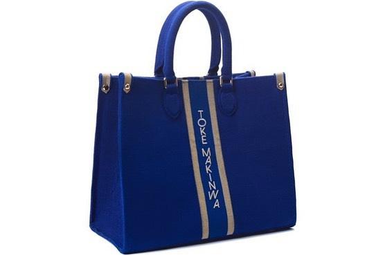Toke Makinwa launches new aso oke bags