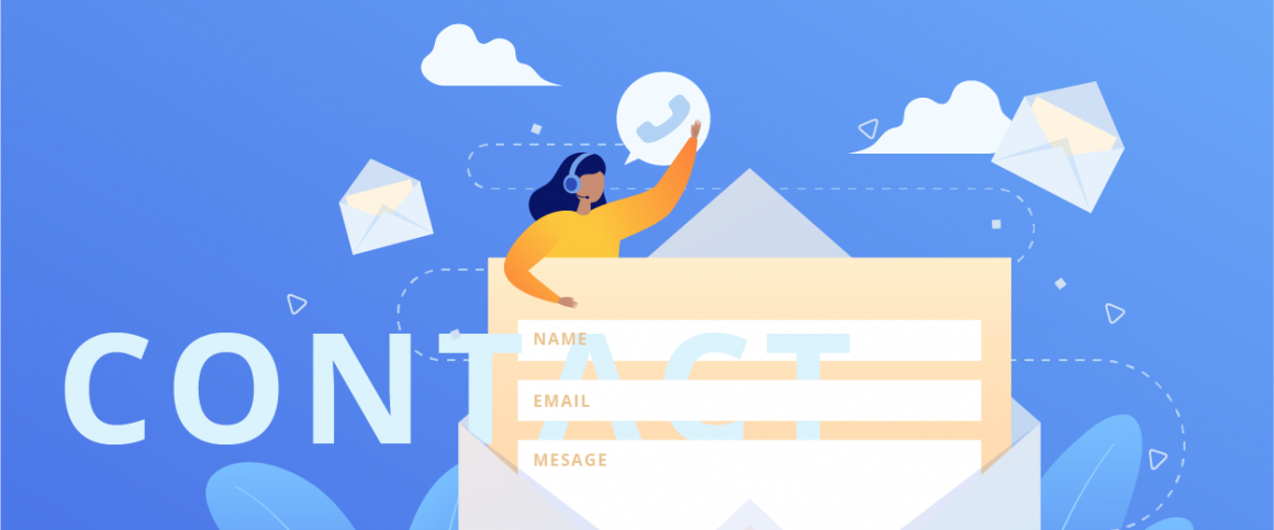 Customer contact information to drive traffic